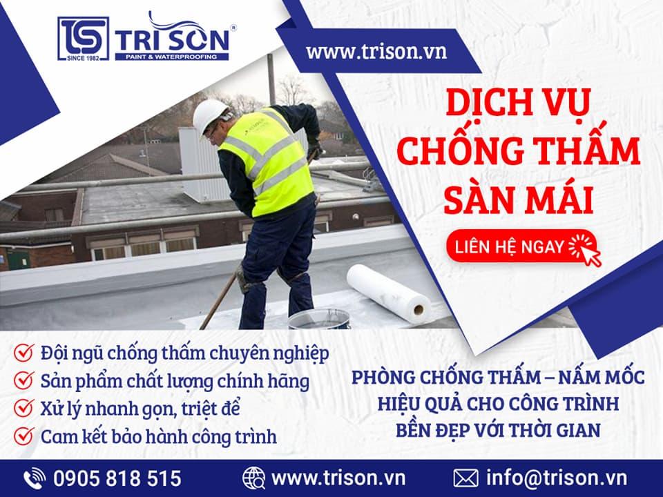 chống thấm sàn mái Nha Trang