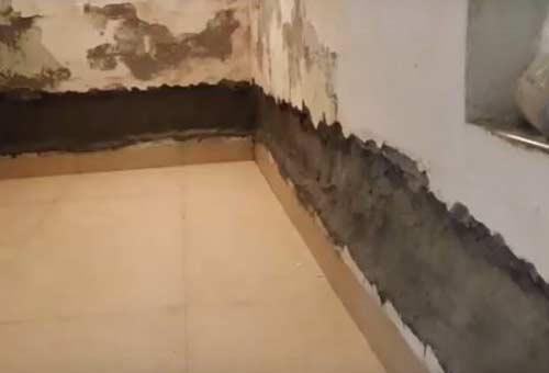 biện pháp chống thấm chân tường
