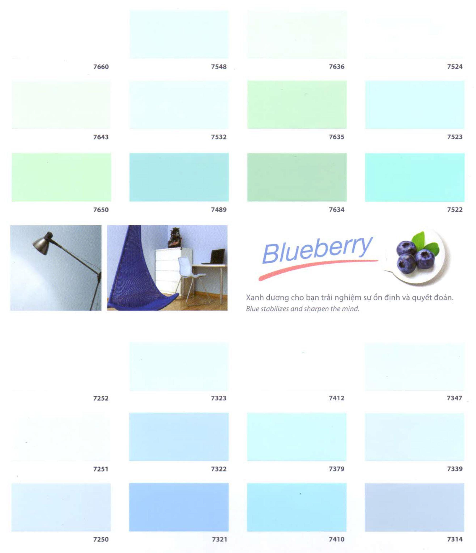 bảng màu sơn nước toa superteck pro