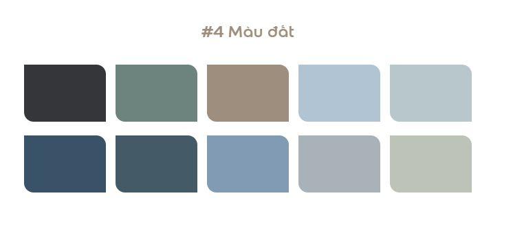 màu sơn dulux 2021